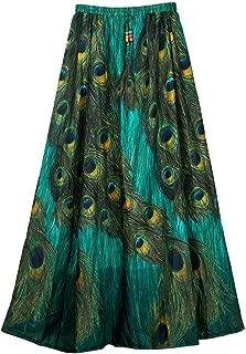 Indian Dresses Store Fashion Care Women's Royal Crepe Skirt(KCBC-21, Multicolour, 35)