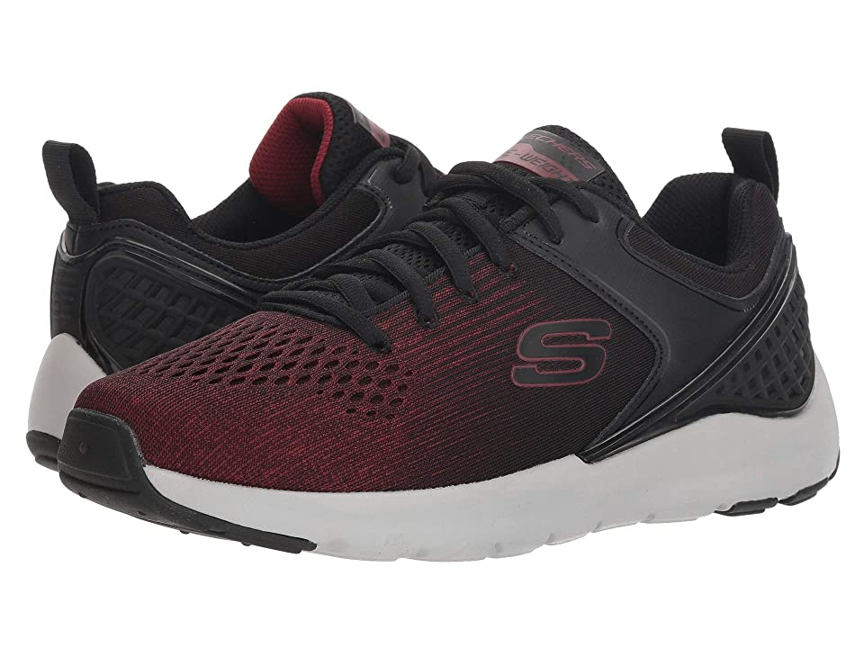 SKECHERS Nichlas (Black/Red) Men