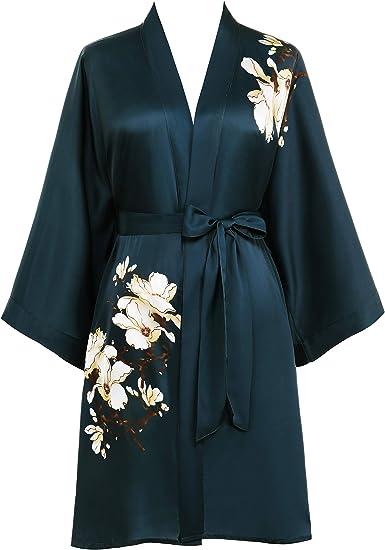 Bridesmaid Robe Boho kimono Printed kimono Robe festival clothing Beach Cover Up Long kimono jacket kimono Cardigan