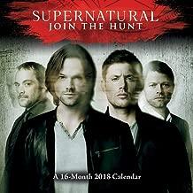 16-Month Supernatural 2018 Wall Calendar (Jensen Ackles & Jared Padalecki)