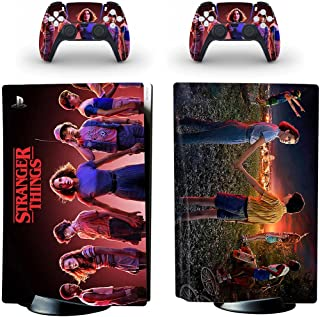 BELIVOR PS5 Skin for Stranger Thingss,This Series PS5 Disk Skin Have Many Kinds of Patterns,PS5 Skins Serve to Protect the...