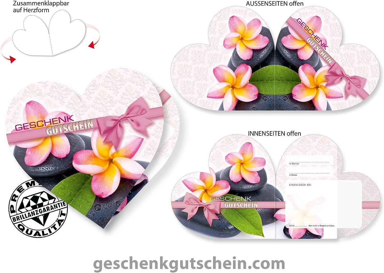 50 Stk. Herz-Gutscheine KS450 KS450 KS450 für Kosmetik, Wellness und Massage B00SYCZ26I  | Helle Farben  0aec7c