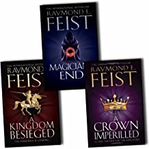 Raymond E. Feist Chaoswar Saga 3 Books Collection Pack Set (A Crown Imperilled, Kingdom Besieged, Magician''s End)