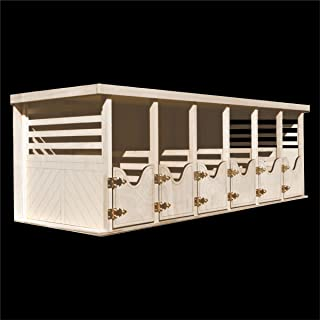 Toy Horse Barn - 6 Stalls - Fits Breyer Horses