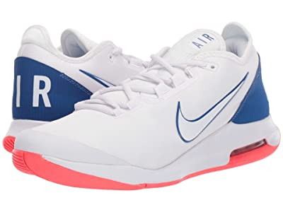 Nike Air Max Wildcard (White/White/Game Royal/Flash Crimson) Men