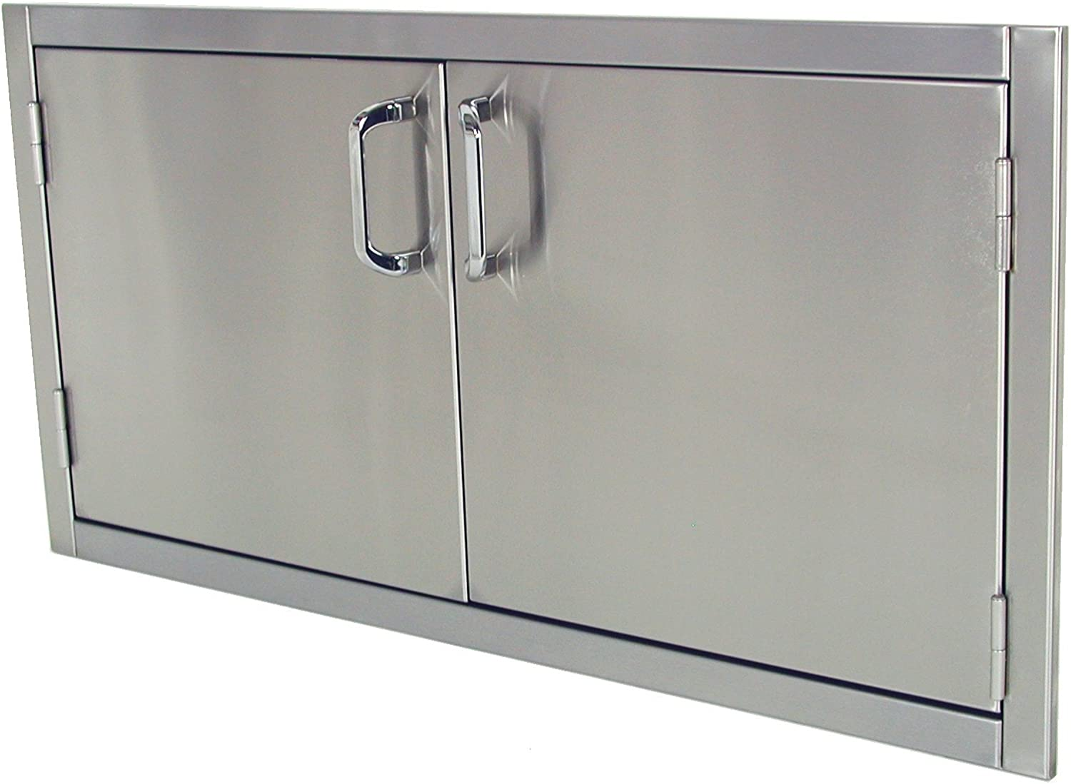 Solaire 42-Inch Flush Over item handling ☆ Mount Doors Stainless Access Steel Regular discount