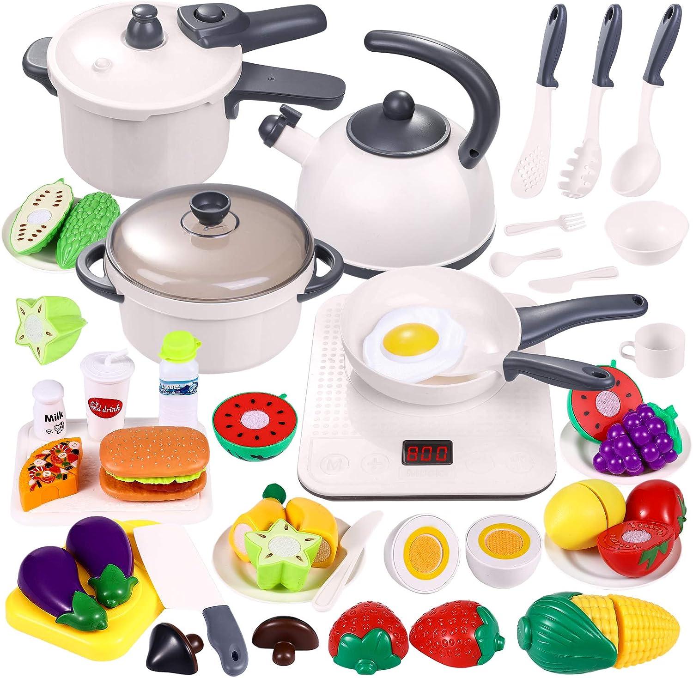 Electronic Kitchen Cooking Toy Children Kids Pretend Play Cooker Set Boy Girl UK