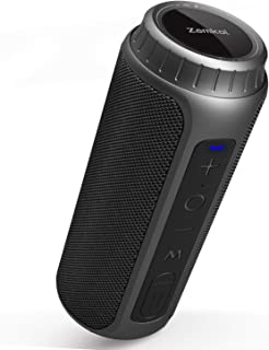 Zamkol Bluetooth Speaker 30W Waterproof Bluetooth Speakers Portable Wireless Loud Stereo Sound & Enhanced Bass Speaker Bluetooth 5.0, Built-in Mic, IPX6 for Home Party, Shower, Outdoor, Travel