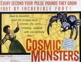 Posterazzi EVCMSDCOMOEC001HLARGE The Cosmic Monsters Aka The Strange World of Planet X Gaby Andre 1958 Movie Poster Masterprint, 28 x 22