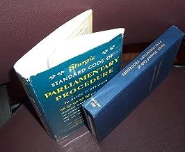 Sturgis Standard Code of Parlimentary Procedure