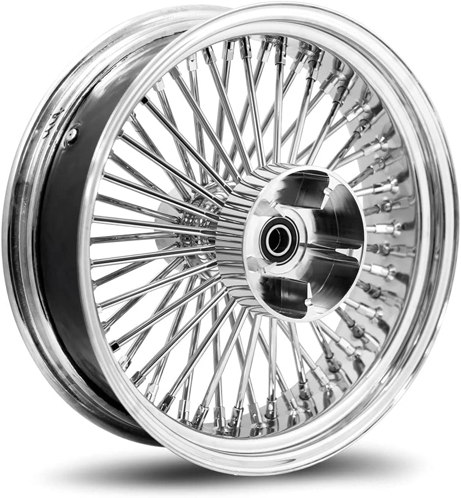 16X5.5 52 Fat Spoke Wheel for Safety and trust Touring 2009-2020 Bagger N 40% OFF Cheap Sale Harley