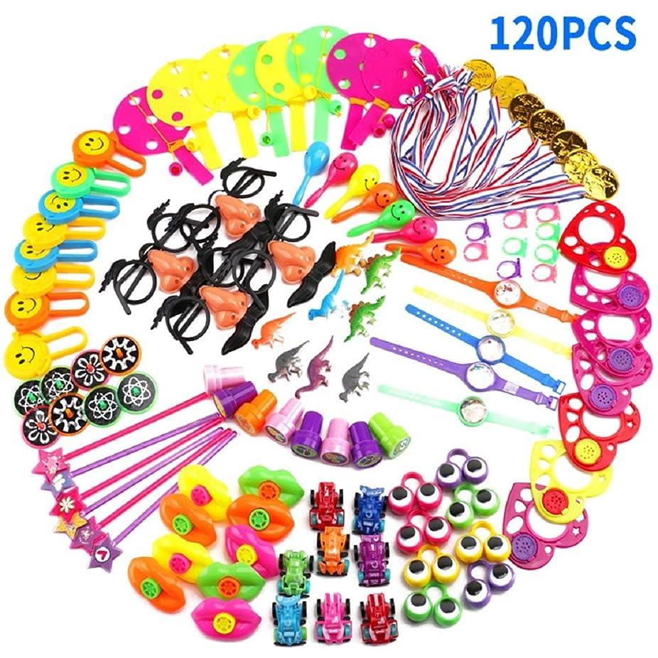 精通した郵便謝るPutars 子供のための120PCS / 100PCSカーニバル賞誕生日パーティーの好意賞ボックス教室の賞ボックスのおもちゃパーティーのためのおもちゃの品揃えプレゼント親と教師のための時間エネルギーを節約