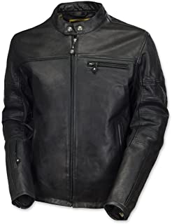 Roland Sands Design Apparel Men's Roland Sands Design Ronin Black Leather Jacket 0800-03L0-0002