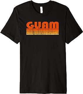 Vintage Grunge Style Guam Premium T-Shirt