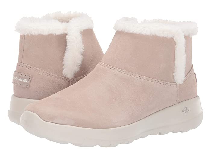 SKECHERS Performance  On-The-Go Joy Bundle Up (Taupe) Womens  Boots