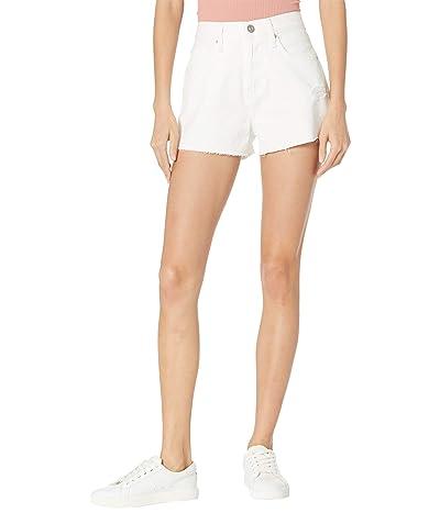 Hudson Jeans Lori High-Rise Cutoffs Shorts in Destructed White Women