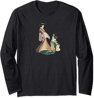 Vintage Japanese Art Long T-Shirt