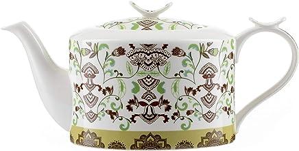 Set de 4 th/éi/ère tasse et soucoupe Jameson /& Tailor//Tea-for-one deMyst/ère en porcelaine brillante//Convient aux lave-vaisselle et micro-ondes