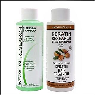 Complex Brazilian Keratin Hair Blowout Treatment Professional Results Straighten and Smooths Hair 120ml Queratina Keratina...