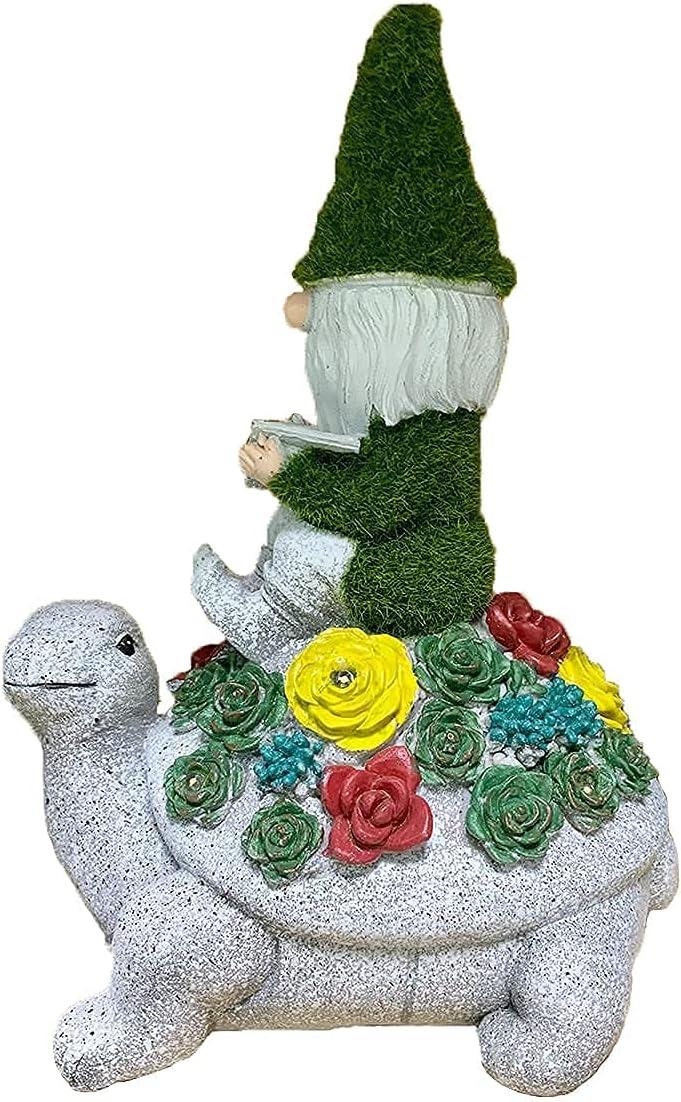 Max 89% OFF Garden Statue Solar Lamp Dwarf - Waterproof Resin OFFicial mail order
