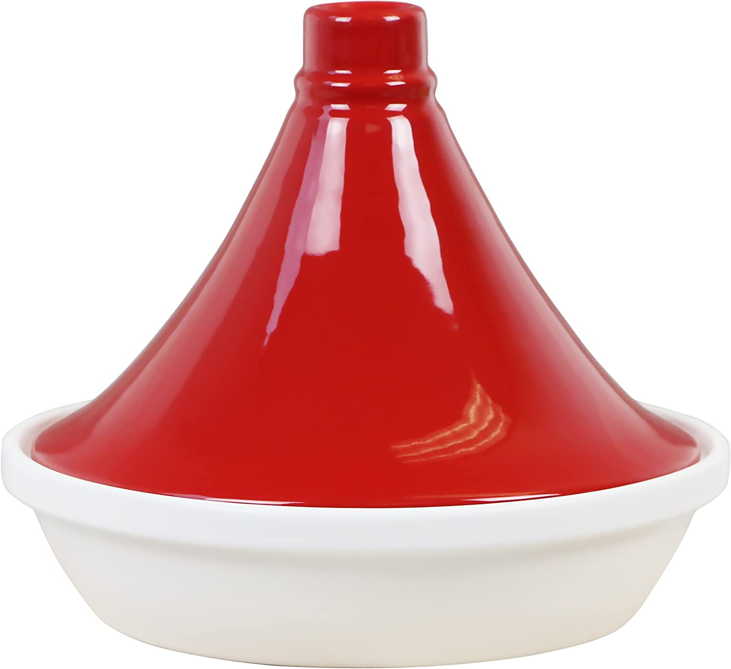 Calypso Basics by Reston Lloyd Flame Tagine Max 71% OFF Proof Special sale item Porcelain 2.5