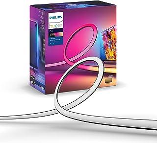 """Philips Hue Gradient - Tira de luz para televisiones de 75"""" - Sincronización con TV, música y juegos"""
