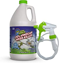 Green Gobbler 20% Vinegar Weed & Grass Killer | Natural and Organic | 1 Gallon Spray | Glyphosate Free Herbicide