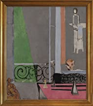 Berkin Arts Framed Henri Matisse Giclee Canvas Print Paintings Poster Reproduction(The Piano Lesson)