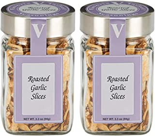 Sponsored Ad - Roasted Garlic Slices- Two 3.3 oz. Jars -A pantry staple! Simple way to enhance flavor.