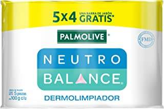Palmolive Neutro Balance Jabón de Tocador Dermolimpiador 5x100gr