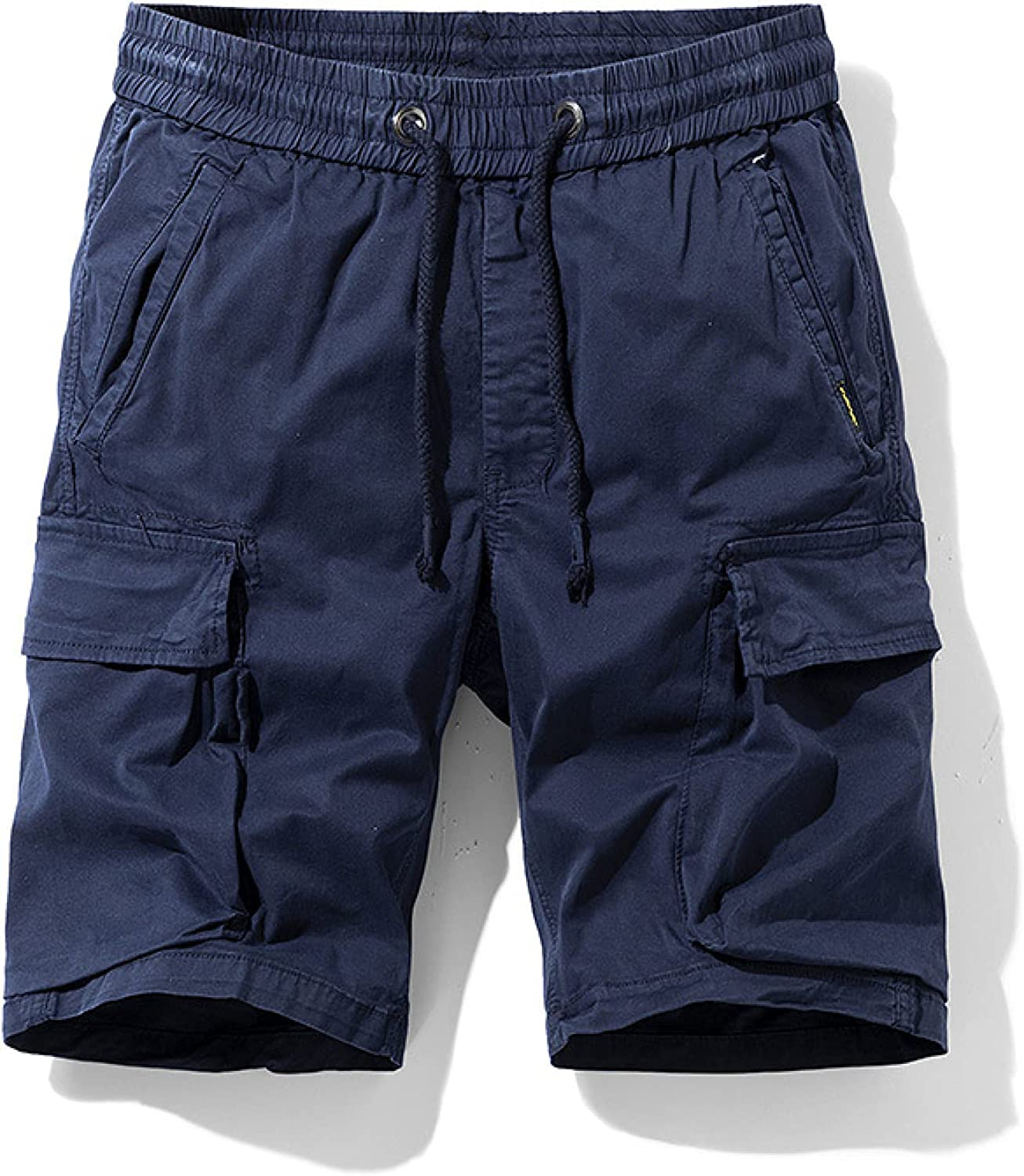 Wantess Men's Fashion Trend Shorts with Drawstring Summer Casual Comfortable