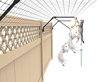 Purrfect Fence Conversion System for Existing Fencing (50 Feet, Standard (for Existing Fence 5 Feet or Taller))