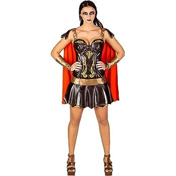 TecTake dressforfun Disfraz para Mujer de gladiadora | Vestido ...