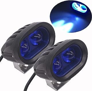 LED Motorcycle Lights Led Forklift Safety Light 20W Reflected Lens Led Truck Lights Heavy Duty LED Work Light (Pack of 2)