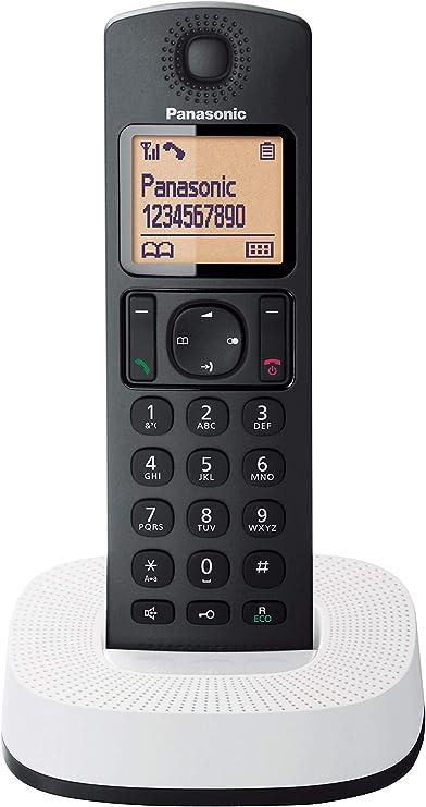 Panasonic KX-TGC310 - Teléfono Fijo Inalámbrico (LCD, Identificador De Llamadas, 16H Uso Continuo, Localizador, Agenda De 50 números, Bloqueo Llamada, Modo ECO, Reducción Ruido), Color Rojo: Amazon.es: Electrónica