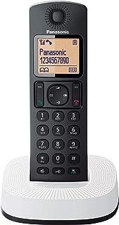 Panasonic KX-TGC310 draadloze telefoon (DECT, eenvoudig, met oproepherkenning) Zwart, wit