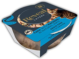 Reveal - Layers | Complementary Cat Food | 2.47oz - 12 Pack - Premium Nutrition, 100% Natural, No Additives, and Limited Ingredients