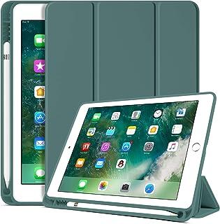 BENTOBEN iPad 6th Generation Case, iPad 5th Generation Case with Pencil Holder, Premium Folio Folding Stand Smart Auto Wak...