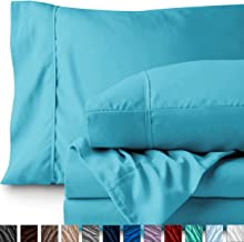 Bare Home Queen Sheet Set - 1800 Ultra-Soft Microfiber Bed Sheets - Double Brushed Breathable Bedding - Hypoallergenic – Wrinkle Resistant - Deep Pocket (Queen, Aqua)