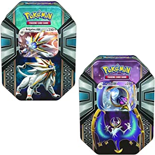 2017 POK Legends of Alola Spring 2017 Tin (Bundle Solgaleo & Lunala)