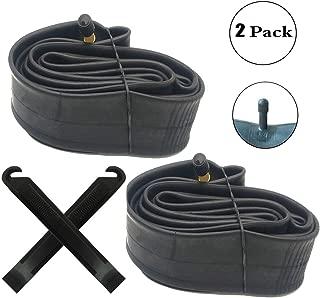 2 Pack 20 Inch Inner Tubes Replacement for 20x1.75/1.95/2.10/2.125 Schrader Valve MTB Bike Tire/Schrader Valve BMX Bicycle Inner Tubes