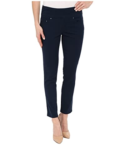 Jag Jeans Amelia Pull-On Slim Ankle Pants in Bay Twill (Nautical Navy) Women