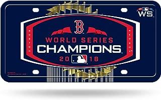 Boston Sport Teams Combined Logo Novelty Front License Plate Decorative Vanity Aluminum Grey car tag
