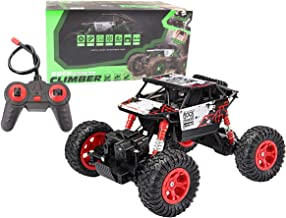 Locke Teddy RC Car 4WD High Speed 1:16 Remote Control Car,Off-Road Racing Vehicle Rock Crawler Climber Car Electronic Monster Truck R/C Buggy Electric Fast Race Hobby for Kids