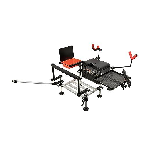TF Gear Match Boss Pole Fishing Seat Box Kit EX DEMO
