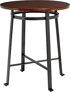 Ball & Cast Bar Table - 42 Inch, Rustic Brown