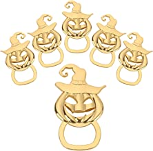 16 Pcs Halloween Party Favors Pumpkin Beer Bottle Opener For Gift Bags and Trick or Treat Prizes Jack-o'-Lantern Face Opener Birthday Wedding Party Keepsake Souvenir Gift