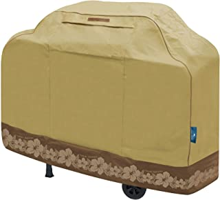 Tommy Bahama 29501 Medium Barbeque Cover, Tan/Brown