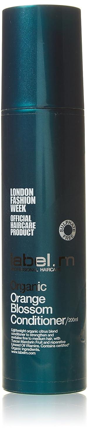終了しました魅了するプロテスタントLabel MOrganic Orange Blossom Conditioner (For Fine to Medium Hair) 200ml/6.8oz【海外直送品】