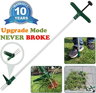 Amble Weeder Hand Puller Tool for Garden Caring to Remove Dandelions Thistles and Weeds